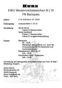 FN-Basispass, EWU-Westernreitabzeichen III_IV-1